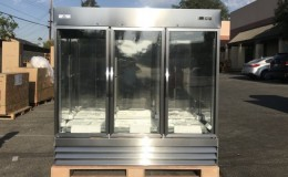 Commercial Stainless Steel Refrigerator 3 door NSF CFD3G