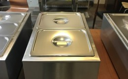 NSF Stainless Steel  Food Warmer ZCK-165A-2