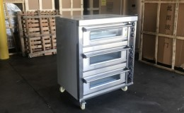 Electric flagstone Trible Oven WFC-303D