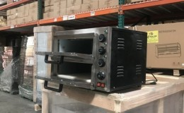 16 ins Electric 3000w Pizza Oven Double Deck Bakery BNP2-2