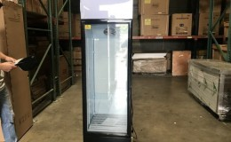NSF 72 inches high glass door refrigerator SC235B
