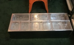 6p container 1-3 seasoning box condiment station C136