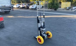 Electric Hand Truck Stair Climbing Battery Powered Stairclimbing