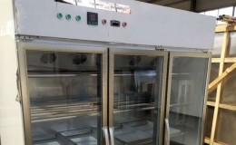 Three door Meat salami maturation cabinet MMC3
