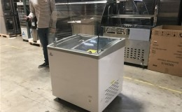 NSF 31 ins Popsicle freezer display SD251S with rack