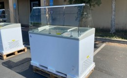 NSF 50 inch Popsicle case Freezer SD451S with rack