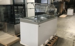 NSF 60 ins Popsicle Cabinet Freezer SD551S with rack