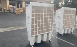 68 inches high Portable Evaporative Cooler 23000m