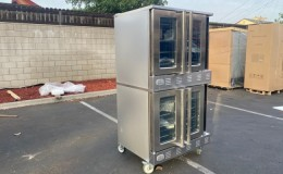 Full Size Convertible Gas Convection Oven  NSF CD-GCO-2
