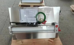 NSF one Stage Pizza Dough 12ins Sheeter Double Roller DR-2S