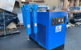 300 CFM Refrigerated Compressed Air Dryer 75HP