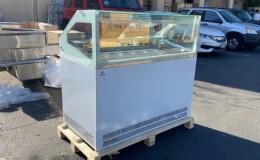 Gelato Ice Cream pan Freezer NSF 48 inch   SM6