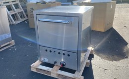 Pizza Oven Double Deck Bakery Fire Stone NSF 24 ins  PO19