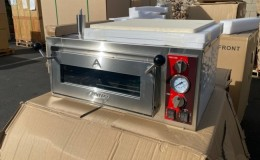 Single Deck Countertop Pizza Oven NSF 18 ins DPO18