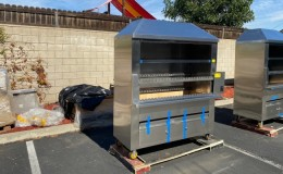 Brazilian bbq grill Argentinean Parrilla Wildwood Oven BAP60