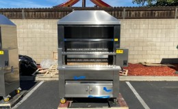 Brazilian Charcoal bbq grill Argentinean Parrilla  Oven BAP48
