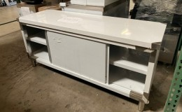 Clearance Commercial Stainless Steel Work Prep Table Cabinet 210
