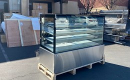 Bakery case refrigerated Display showCase 72 ins NSF RT6F