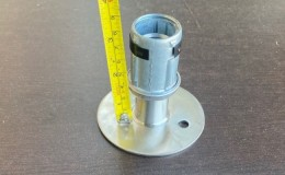 Stainless Steel Table Base Flange Equivalent Flanged Foot for 4