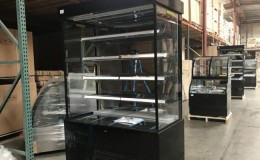Clearance NSF open air display case refrigerator 21031328