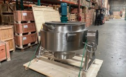 500L cook Jacketed steam mixer kettle CMK500