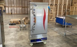 12 pan seafood Steam Cooking Cabinet gas  propane C13
