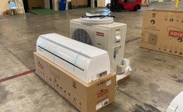 36000 BTU Commercial Air Conditioner AC Ductless NSF 220V