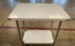 All Stainless Steel Table NSF 36W x 24D x34H inches