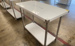 All Stainless Steel Table NSF 48W x 24D x34H inches