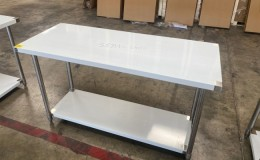 All Stainless Steel Table NSF 60W x 24D x34H inches