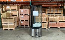 Clearance Curved Glass Refrigerated Display case Bakery 2107089