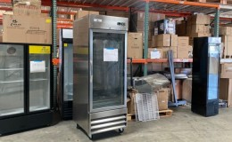 Clearance NSF Stainless Steel Refrigerator one door 091601