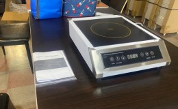Commercial Induction Cooker  Stainless Steel 3500W