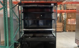 Clearance NSF 60 ins open air display case refrigerator 10182