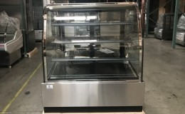 Refrigerated bakery refrigerator case NSF 48 in CL-4F