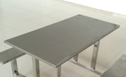 Restaurant Furniture Stainless steel table top 24*48 ins