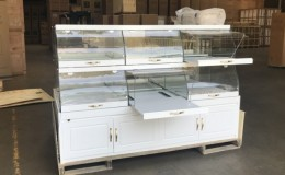 80 ins Island Dry Bakery Pastry Display showcase Case GR280