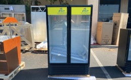 NSF  39 ins 2 Glass Commercial Merchandising door cooler LC-600
