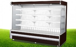 79 ins Open Air Curtain Remote Cooled Merchandiser